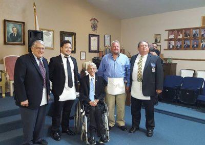 4 Talented New Master Masons