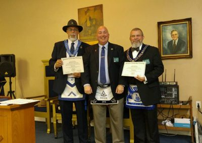Masonic Leadership Training Awards